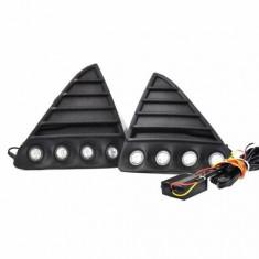 Kit proiectoare LED auto NSSC Ford Focus - DRL