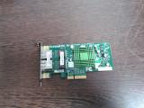 Placa de retea Chipset INTEL 2 porturi 1Gbit/s, PCI-E, Intern