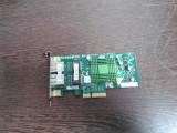 Placa de retea Chipset INTEL 2 porturi 1Gbit/s
