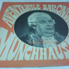 DISC VINIL AVENTURILE BARONULUI MUNCHHAUSEN STARE FOARTE BUNA - Muzica pentru copii