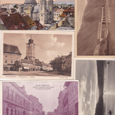 LOT 5 CARTI POSTALE SIBIU, TURNU ROSU, Ambele, Printata, Romania 1900 - 1950