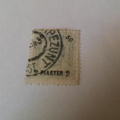 Austria/levant 1900-1 regele josepf/ 4 v. stampilate
