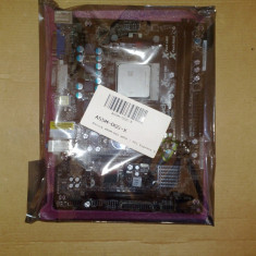 KIT Placa de baza Asrock A55M-DGS soket FM1 + procesor dual core A4-3300 ddr3, Pentru AMD, DDR 3