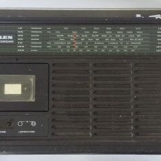 RADIO CASETOFON INGELEN TRAVEL CORDER 607 . RARITATE IN ROMANIA .