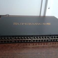 Switch Alta SuperMicro 52 porturi 1 Gbit/s