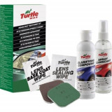 Kit polish restaurare far faruri din plastic Turtle Wax 240 ml