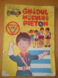 GHIDUL MICULUI PIETON - 1969 FORMAT A4 - CONTINE BENZI DESENATE DE NELL COBAR