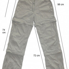 Pantaloni detasabili SALEWA DryLon (dama S) cod-260195 - Imbracaminte outdoor Salewa, Marime: S, Femei