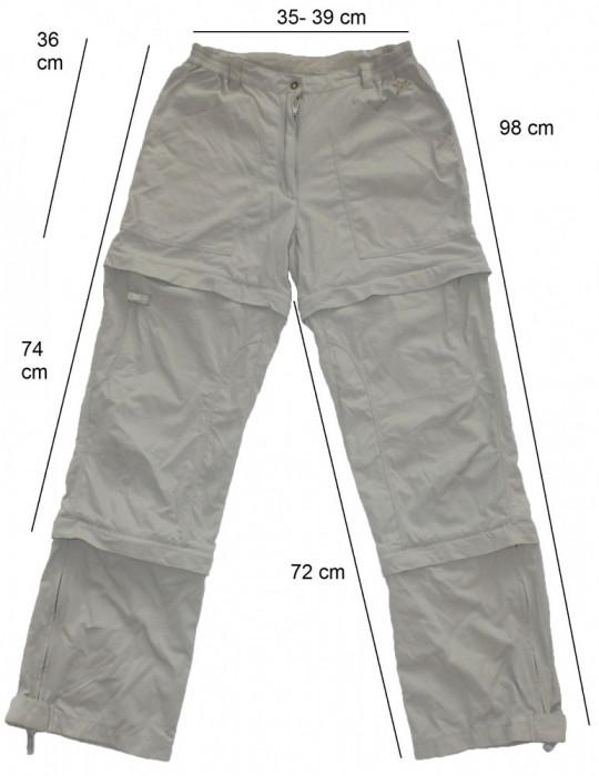Pantaloni detasabili SALEWA DryLon (dama S) cod-260195 foto mare