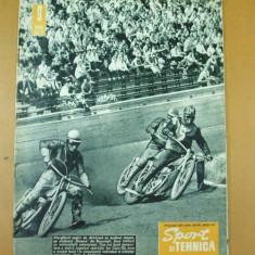 Sport si tehnica 9 / 1965 motociclism Bucuresti scafandru tir expozitie aviatie