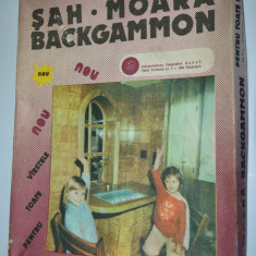 Joc vechi Sah - Moara - Backgammon, anii '80 complet - Joc colectie