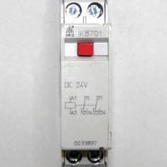Contactor / releu intermediar Dold IK8701 actionare 24 Vdc(1059)