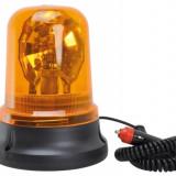 Girofar auto BestAutoVest 24V orange cu bec H1 si fixare magnetica