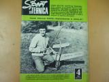 Sport si tehnica 4 / 1972 racheta Sutesti Dragasani aviatie Ponor motociclete