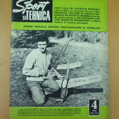 Sport si tehnica 4 / 1972 racheta Sutesti Dragasani aviatie Ponor motociclete - Revista auto