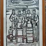 Personaje - semnat Philip Waldemar Ronald 1979 - Pictor roman, Peisaje, Ulei, Altul
