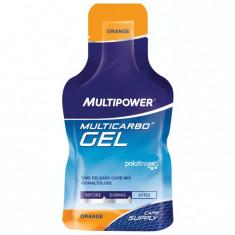 Gel energizant Multicarbo Isomaltulose portocale 40g Multipower - Energizante