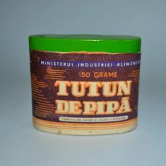 Tutun de pipa - 50 grame - 1967 - Fabrica de tutun si tigari Timisoara - plin