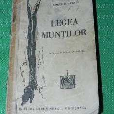 Legea muntilor - Cornleiu Axente 1939 (0109 - Carte Geografie