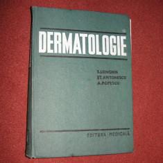 Dermatologie - S.Longhin, St.Antonescu, A.Popescu - Carte Dermatologie si venerologie
