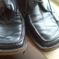 Pantofi piele italia bot de rata marime 40 - Pantof dama, Culoare: Negru