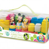 Clemmy - Plasa Cu 29 Cuburi Si 3 Personaje Disney