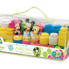 Clemmy - Plasa Cu 29 Cuburi Si 3 Personaje Disney Clementoni