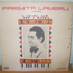 FARAMITA LAMBRU ACORDEON VINIL ST-EPE 01175 din 1977 - Muzica Lautareasca electrecord