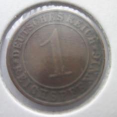 Germania 1 reichspfennig 1935(A), Europa, Bronz
