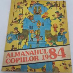 ALMANAHUL COPIILOR 1984 - Carte educativa