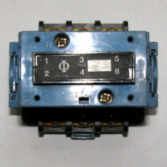 Contactor KRAUS&NAIMER R26 tripolar actionare 220Vac(1074)