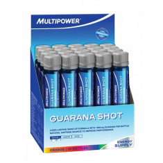 Supliment alimentar Guarana 20 fiole X 25ml aroma portocale Multipower - Energizante