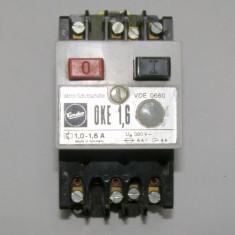 Releu manual cu protectie motor Condor 1-1.6A(1081)