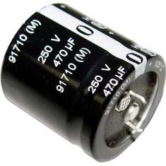 470uF/250V