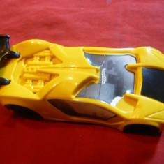 Jucarie- Masinuta curse , Mattel, China , L= 9,6 cm , plastic