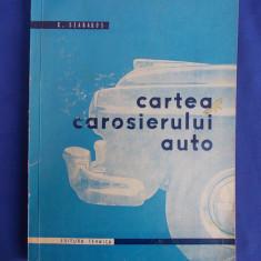 C. SZABADOS - CARTEA CAROSIERULUI AUTO - 1960 - Carti auto