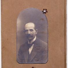 Carnet de identitate cu fotografie aprox. 1920 PRIMARIA MUNICIPIULUI BRASOV - Pasaport/Document