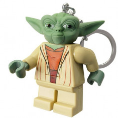 Breloc cu lanterna LEGO Yoda