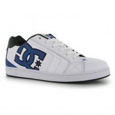 Adidasi tenisi tenesi skate DC Shoes Net ORIGINALI masura 41 - Adidasi barbati Dc Shoes, Marime: 40.5, Culoare: Alb, Piele naturala