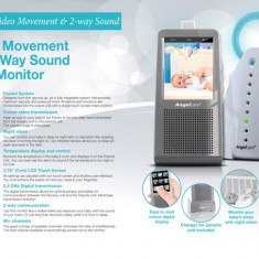 Monitor video color nou-nascut/bebelus zi/noapte Angelcare AC1120 - Baby monitor