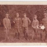 Fotografie grup militari cu decoratie aprox. 1915 Austria Ungaria - Fotografie veche