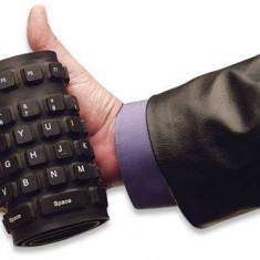 Tastatura Manhattan flexibila 177436, USB, 108 taste, neagra, Cu fir