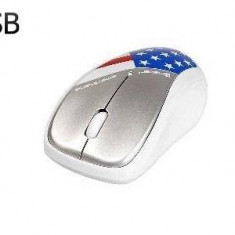 Mouse Tracer TRAMYS45219, Nano, USB, 1000 dpi, american