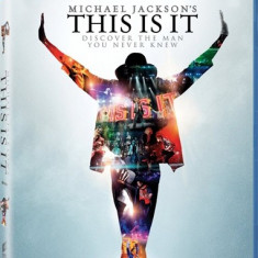 MICHAEL JACKSON This Is It slipcase (bluray) - Muzica Pop