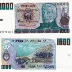 ARGENTINA 1.000 pesos P-317 UNC!!! - bancnota america