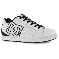Adidasi tenisi tenesi skate DC Shoes Net ORIGINALI masura 40 - Adidasi barbati Dc Shoes, Culoare: Alb, Piele naturala