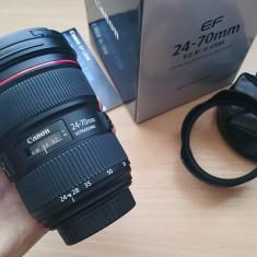 Canon 24-70mm f/2.8L II USM, NOU! - Obiectiv DSLR Canon, Standard, Autofocus, Canon - EF/EF-S