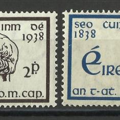 SERIE IRLANDA 1938, Nestampilat