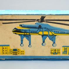 RAR - Joc vechi CCCP - RUSIA - Kit ELICOPTER - Yunyj Tyechinik Mil Mi-10 1975 - Macheta Aeromodel, 1:100