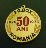 Medalie F R  Box Romania